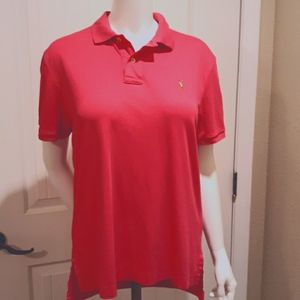 Polo Ralph Lauren Pink Interlock Polo Shir…
